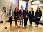 La OMEP presenta al presidente de la Comunidad Autónoma de la Región de Murcia su plan de acción para este año