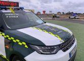 La Guardia Civil investiga al conductor de un turismo por conducción temeraria en Totana