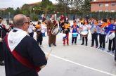Las Torres de Cotillas calienta motores para su tamborada en el colegio 'Joaquín Cantero'