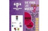 Se aplaza el Encuentro con la política Cristina Almeida, organizado para mañana dentro del programa de actividades del Festival 'Que vivan las mujeres'
