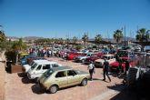 Concentración de vehículos clásicos en Puerto de Mazarrón