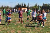 Cerca de 200 jóvenes jugadores de rugby disfrutan de una gran fiesta del deporte en Las Torres de Cotillas