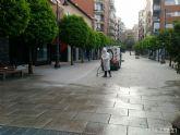 El Ayuntamiento de Molina de Segura y Sercomosa  llevan a cabo la limpieza de choque y desinfección en vía pública, edificios públicos, parques y jardines y contenedores de residuos para prevenir expansión del COVID-19