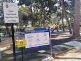 Se reabre desde hoy la zona de juegos infantil del Parque Municipal 'Marcos Ortiz'