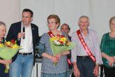 Fuensanta L�pez y Mateo Pag�n nuevos Reyes de Mayores 2016