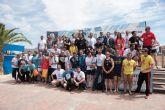 Éxito de participación en la primera travesía a nado por las aguas de la Bahía de Mazarrón