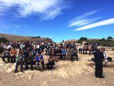 Más de 100 jubilados viajan a Lorca en el día del pensionista