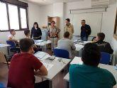 32 alumnos y alumnas participan en el Programa Mixto de Empleo y Formación El Romeral 1 en Molina de Segura