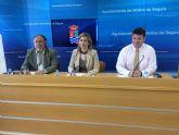 El Ayuntamiento de Molina de Segura y la mercantil  Área de Servicio Las Salinas firman un convenio de patrocinio y mecenazgo para acondicionar la conexión de Altorreal con la carretera RM-A5 y la autovía A-30