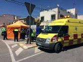 Un vecino de Totana fallece de forma súbita mientras conducía una furgoneta a la altura de la rotonda de La Turra