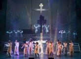 El Auditorio regional acoge la  representación del musical 'Jesucristo Superstar'
