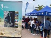 Los visitantes podrán conocer esta Semana Santa el estado del Mar Menor y sus valores naturales a través de tres puntos informativos