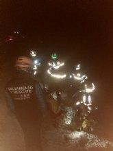 Rescatan a 6 escaladores enriscados en una vía ferrata de la Sierra del Lugar (Fortuna)