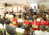El Ayuntamiento y el INFO impulsan una jornada de emprendimiento en el IES Rambla de Nogalte de Puerto Lumbreras