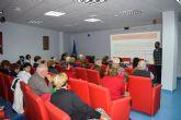 Taller de envejecimiento activo en el Centro de Día de Mazarrón dirigido a los mayores del municipio