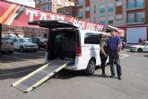 La flota de taxis incorpora un vehículo adaptado para personas con movilidad reducida