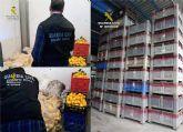 La Guardia Civil esclarece la sustracción de más de ocho toneladas de limones y 36 palots