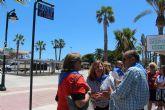 San Pedro del Pinatar conmemora el 125 aniversario de la Romería de la Virgen del Carmen que pasa a nombrar una de las principales vías del municipio