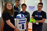 Alumnos de Bachillerato presentan en la UPCT robots para explorar Marte y para pacientes en cuarentena