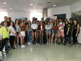 Recepción de estudiantes franceses de intercambio en el municipio