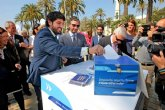 López Miras: 'El Corredor Mediterráneo es una realidad y está proyectado y previsto que llegue a Cartagena'