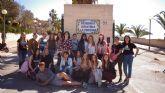 Alumnos del IES 'Prado Mayor' de 'Peluquería y Cosmética Capilar' muestran sus conocimiento en la Residencia 'La Purísima'