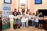 Entregados los premios del concurso escolar 'Crece en Seguridad', dirigido a más de 400 alumnos de 5° de Primaria, participando 206 alumnos y siete centros educativos de Alcantarilla