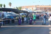 El mercadillo semanal de San Pedro del Pinatar retoma su actividad en el Recinto Ferial con productos de alimentación