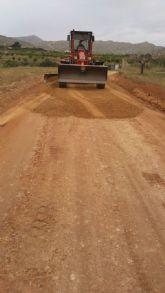 La Comunidad inicia obras para mejorar más de 13 kilómetros de caminos rurales en Los Alcázares y Cartagena