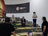 Cerca de una veintena de asistentes participan en el IV Curso Básico de Astronomía en el Observatorio del Cabezo de la Jara