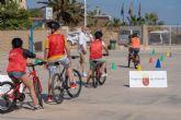 Más de 2.500 alumnos de la Región se forman en educación vial en las Aulas Ciclistas de 'La Vuelta Junior Cofidis'