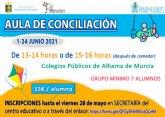 Abierto el plazo de inscripci�n para el aula de conciliaci�n durante el mes de junio