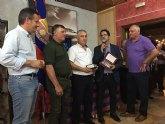 La Peña Barcelonista de Totana participa en el XX aniversario de la Peña Barcelonista de Alhama de Murcia