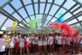 Las calles de Puerto Lumbreras se llenan de color con la Holi Run