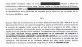 IU-Lorca denuncia en la Fiscalía a la Secretaria de Fomento por posible prevaricación