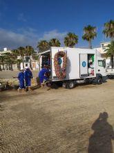 Los Alcázares realizará prospecciones submarinas para conocer el estado de los fondos de la playa