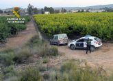La Guardia Civil detiene a un experimentado delincuente por varios robos en establecimientos  de Abarán