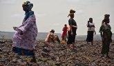Hambre y conflicto: causa y efecto del aumento de personas refugiadas