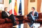 Sánchez, ante Draghi, llama a la colaboración hispano-italiana para aprovechar al máximo las oportunidades de sus planes de recuperación