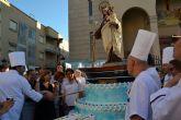 Más de 6.000 raciones de tarta en honor a la Virgen