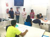 Los jóvenes de Abanilla mejoran su nivel de inglés con el programa ´Club de Idiomas´