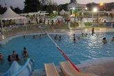 Puerto Lumbreras abre las piscinas de verano en horario nocturno