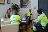 La concejal�a de Sanidad informa a la nueva coordinadora de urgencias de las necesidades de ubicaci�n del servicio