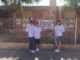 Alumnos del programa mixto de empleo y formaci髇 ya realizan pr醕ticas como cuidadores en los centros sociosanitarios del municipio de Totana