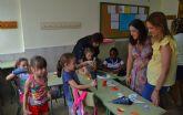 Más de 200 niños participan en la escuela de conciliación de verano de Las Torres de Cotillas