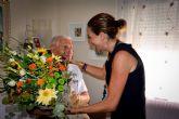 La Alcaldesa felicita al algaidero Daniel López González que hoy cumple 100 años