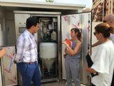 El alcalde y la concejala de Servicios Públicos revisan el correcto estado y funcionamiento del sistema de estaciones de bombeo en La Manga
