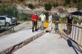 El Ayuntamiento renueva m�s de 2 km de tuber�a de agua potable en Gebas