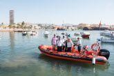 La nueva embarcación de Protección Civil amplía la vigilancia en el litoral