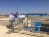 La Comunidad recupera con la depuradora de Los Alcázares dos millones de metros cúbicos de agua para reutilizarla para riego